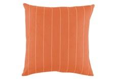 Outdoor Accent Pillow-Carnelian Pinstripe 20X20