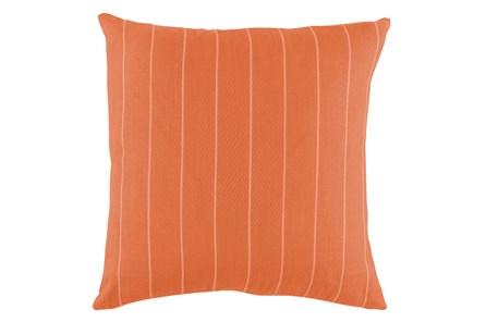 Outdoor Accent Pillow-Carnelian Pinstripe 20X20 - Main