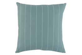 Outdoor Accent Pillow-Mineral Pinstripe 20X20