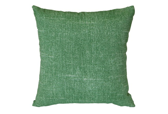 Outdoor Accent Pillow-Green Solid 18X18 - 360