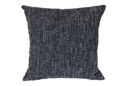 Outdoor Accent Pillow-Navy Textural 18X18 - Main
