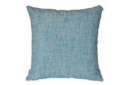 Outdoor Accent Pillow-Teal Textural 18X18