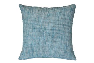 Outdoor Accent Pillow-Teal Textural 18X18
