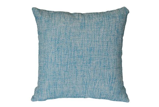 Outdoor Accent Pillow-Teal Textural 18X18 - 360