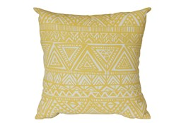 Outdoor Accent Pillow-Lemon Triangles 18X18