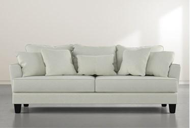 """Elijah II Green 100"""" Sofa"""