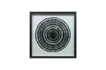 36X36 Paper Art Charcoal