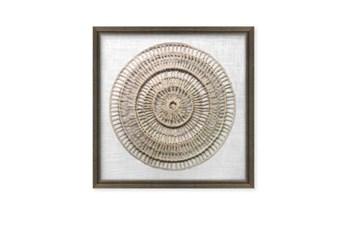 24X24 Paper Art Ivory