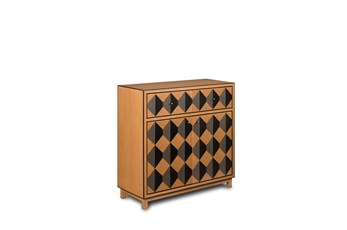 2 Drawer 2 Door Geo Pattern Dresser