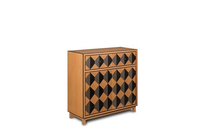 2 Drawer 2 Door Geo Pattern Dresser - 360