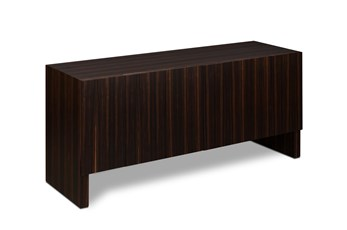 Natural Ebony 6 Door Sideboard