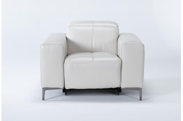 Alessa Frost Power Reclining Chair With Power Headrest