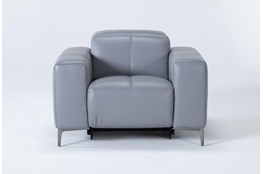 Alessa Sleet Power Reclining Chair With Power Headrest