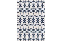 2'x3' Rug-Modern Geometric Easy Care Blue
