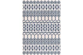2'x3' Rug-Modern Geometric Easy Care Blue