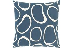 Accent Pillow-Orbs Blue 18X18