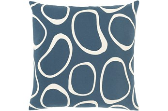Accent Pillow-Orbs Blue 18X18