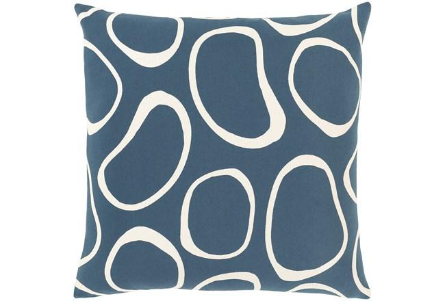 Accent Pillow-Orbs Blue 18X18 - 360