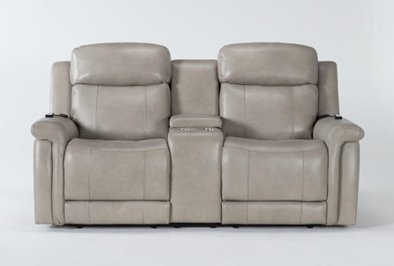 Serena Taupe Power Reclining 77