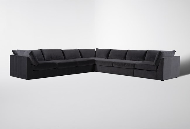Marcel 5 Piece Sectional By Nate Berkus And Jeremiah Brent - 360