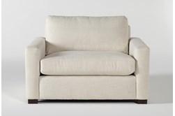Magnolia Home Walden Homespun Cream Chair By Joanna Gaines