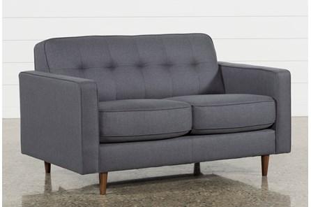 London Dark Grey Twin Plus Sleeper Sofa