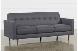 "London Dark Grey 80"" Queen Sleeper"