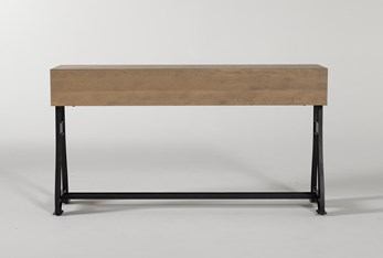 """Magnolia Home Foundry 17"""" Console Table By Joanna Gaines"""