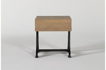 Magnolia Home Foundry End Table By Joanna Gaines