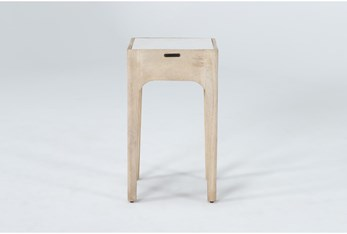 Magnolia Home Pembrook Marble End Table By Joanna Gaines