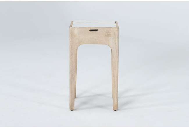Magnolia Home Pembrook Marble End Table By Joanna Gaines - 360