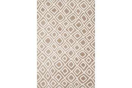 60X90 Rug-Diamonds Taupe