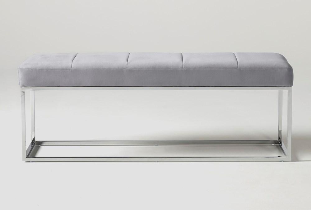 Topanga Velvet Bedroom Bench