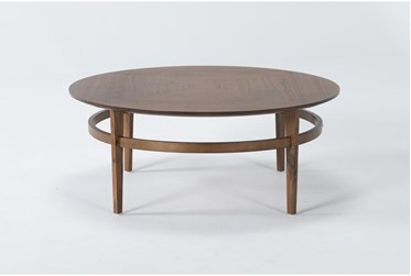 Magnolia Home Miller Walnut Coffee Table By Joanna Gaines