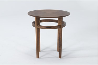 Magnolia Home Miller Walnut End Table By Joanna Gaines