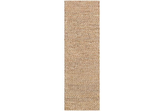 30X96 Rug-Contemporary Jute Natural - 360