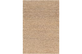 60X90 Rug-Contemporary Jute Natural