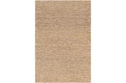 108X144 Rug-Contemporary Jute Natural