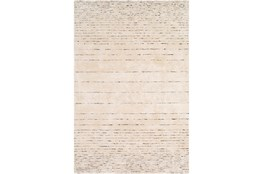"5'x7'5"" Rug-Viscose And Wool Modern Brown/Cream"