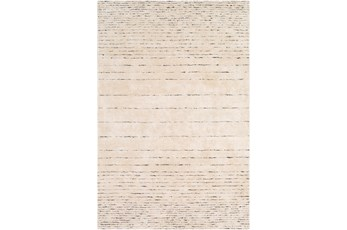 60X90 Rug-Viscose And Wool Modern Brown/Cream