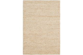 24X36 Rug-Contemporary Jute Butter