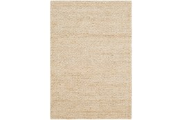 60X90 Rug-Contemporary Jute Butter