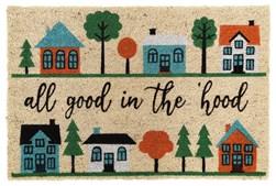 3'x2' Doormat-All Good In The Hood