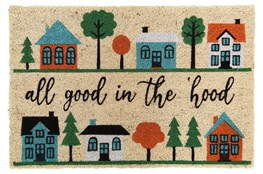 36X24 Doormat-All Good In The Hood