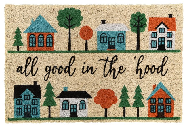 36X24 Doormat-All Good In The Hood - 360