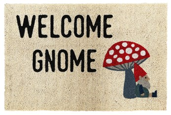 3'x2' Doormat-Welcome Gnome