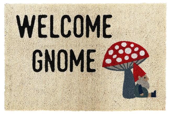 3'x2' Doormat-Welcome Gnome  - 360