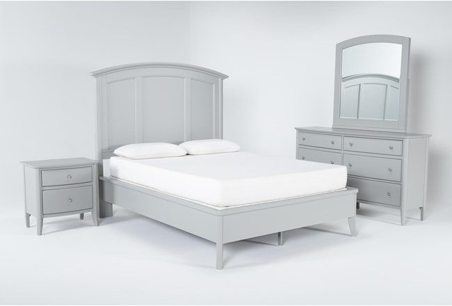 Greyson Queen 4 Piece Bedroom Set - 360