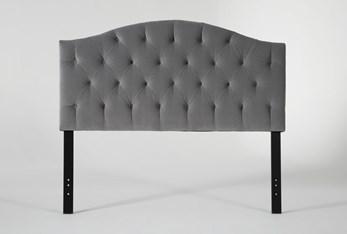 Bella Queen Velvet Upholstered Headboard