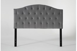 Bella California King Velvet Upholstered Headboard